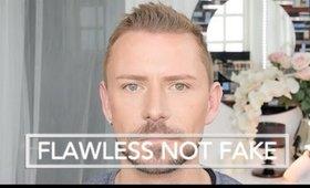 LOOK FLAWLESS - NOT FAKE - MAKEUP TUTORIAL (Beginner Friendly)