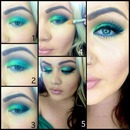 Green eye tutorial