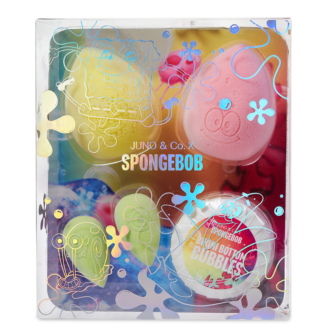 JUNO & Co. JUNO & Co. x SpongeBob Bikini Bottom Bundle alternative view 1 - product swatch.