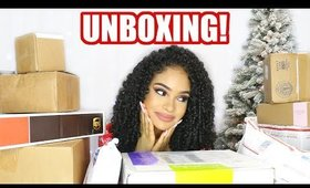 HUGE CHRISTMAS MORNING UNBOXING! Hair, Beauty, Fashion