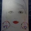 Peace Earrings