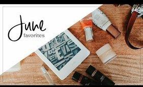 June Favorites | Beauty & Books