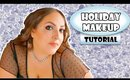 DRUGSTORE HOLIDAY GLAM MAKEUP TUTORIAL | CVS BEAUTY