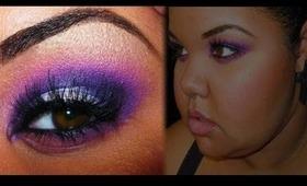 ELECTRIC VIOLET | Makeup Tutorial