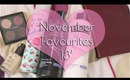 November Favourites 13'