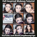 Fall Inspired Hair and Makeup Tutorial