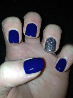 Nina pro polish in - Sailor Rimmel precious stones polish in - 001 Diamond dust