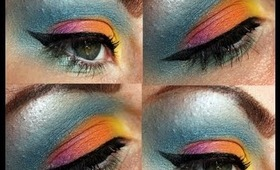 Colourful Summery Makeup