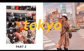 Tokyo Japan Travel Guide ✨ PT 2 ✨ Secondhand Designer Stores Gucci / LV / ST Laurent + Mini Pig Cafe