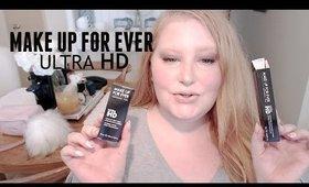 REVIEW! MAKE UP FOR EVER ULTRA HD STICK FOUNDATION & CONCEALER