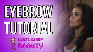Learn how I fill in my eyebrows....SUBSCRIBE to my YouTube Beauty channel: Boot Camp Beauty Tips!