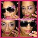 Hello Kitty Nails & Makeup