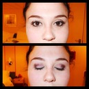 Everyday Eye Makeup- With Purple and Black