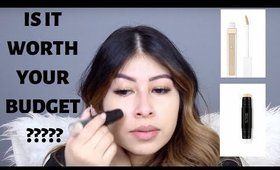 Flower beauty foundation Blur stick /concealer review and wear test