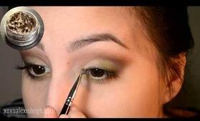 camo inspired makeup1