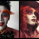 Mad Hatter Makeup Transformation