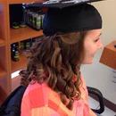 Graduation hairstyle