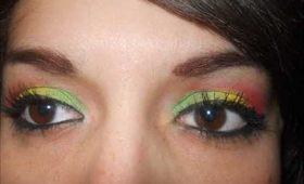 RASTA makeup tutorial