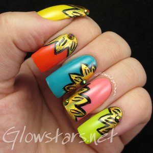 Read the blog post at http://glowstars.net/lacquer-obsession/2015/07/foil-flowers/