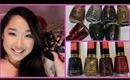 Nail Polish Haul Part 1 - Holiday 2012: Drugstore & China Glaze!