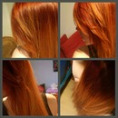going red/blonde