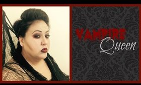 Gothic Vampire Queen | Halloween Hair and Makeup Tutorial