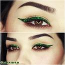 Glitter Eyeliner Makeup