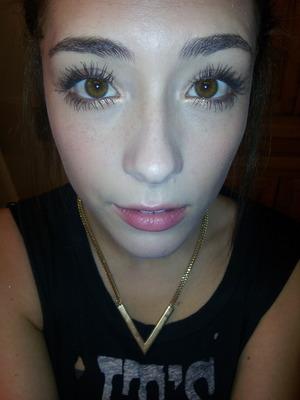 I love my long eye lashes