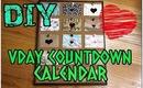 DIY Valentine's Day  GIFT IDEA: Countdown Calendar