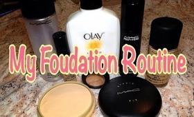 My Foundation Routine