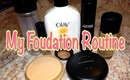 My Foundation Routine