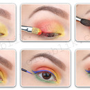 Colorful Summer Makeup.