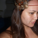 Handmade feather headband :)