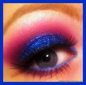 Blue Glitz :)