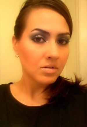 Makeup look using Urban Decay NAKED
