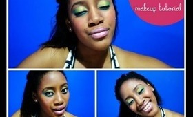 """How To: Kelly Rowland """"Kisses Down Low"""" Video Makeup Look Tutorial"""
