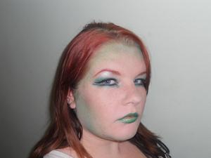I'm just a little green... With Envy. http://avsmakeup.blogspot.com/2011/09/im-just-little-green.html