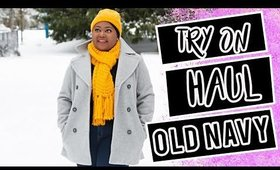 Old Navy Winter essentials try on haul