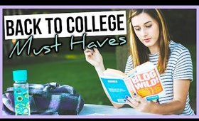 BACK TO COLLEGE | MUST HAVES