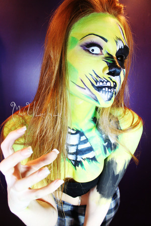 My concept inspired by Living Dead Girl by Rob Zombie <3 This is just me being a weirdo. www.facebook.com/madeulookbylex