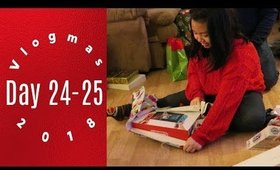 Vlogmas Day 24-25 Merry Christmas Fam! | Grace Go