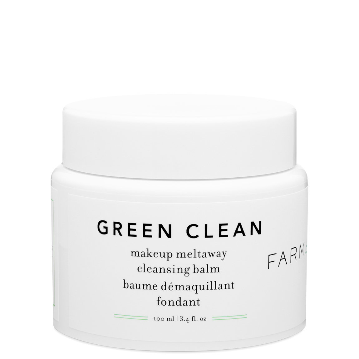 Farmacy Green Clean Makeup Meltaway Cleansing Balm 3.4 oz alternative view 1 - product swatch.