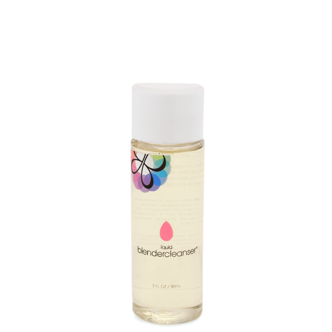 beautyblender liquid blendercleanser 3 oz product smear.