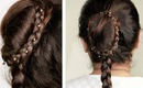 Bridal braid with bun - http://www.youtube.com/watch?v=J1yFUOKxweg