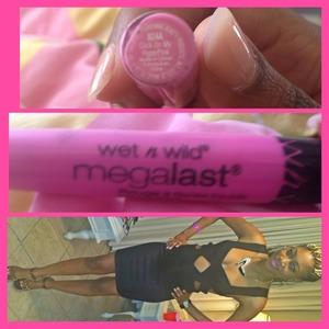 Wet n wild megalast liquid lip color #924A Click On My Hyperpink