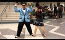 Dancing with Psy cosplayer at Fanimecon 2013