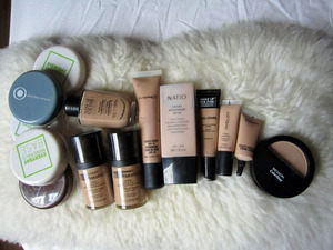 My Foundation Collection...so far