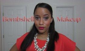 Bombshell Makeup Tutorial using glam bag