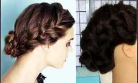 How To: Quick Everday Low Braided Bun