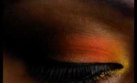 Ruthless cosmetics : Slap a b*tch (ORANGE LOOK TUTORIAL)